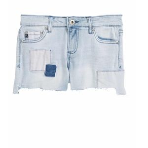 AG The Tarni patch cut off shorts